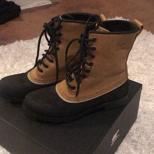 Sorel boots!!!